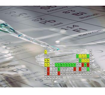 Практические исследования микроэлементных профилей лекарственных средств